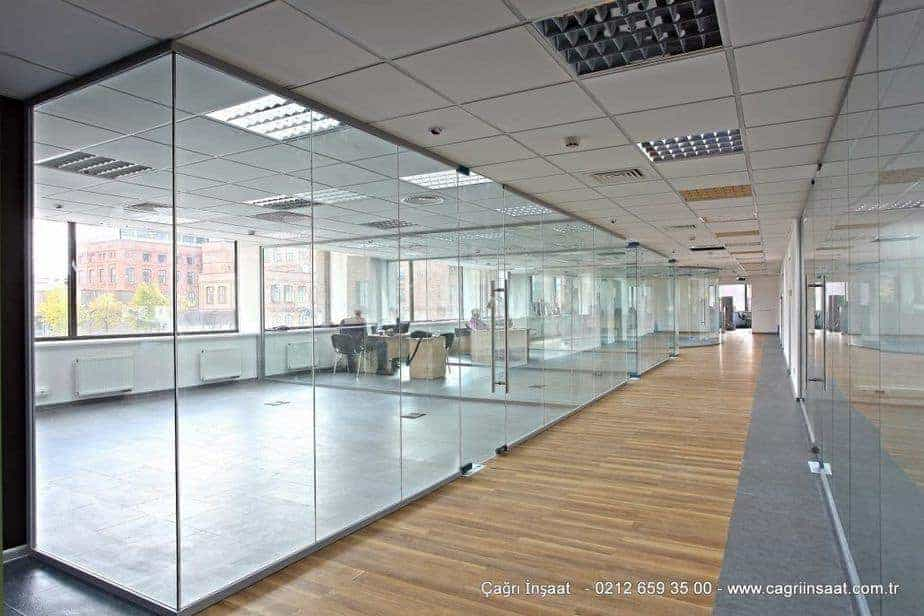 glass office partition systems