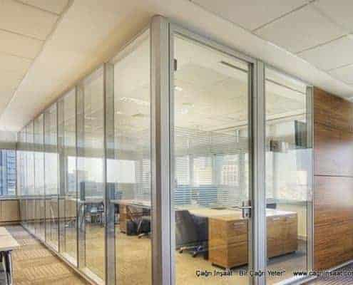 transparent office partitions