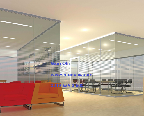 glass partitions system