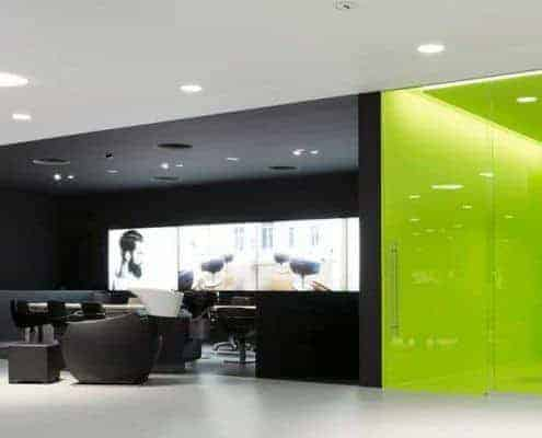 S-Line Partition Wall Systems