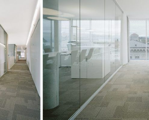 glass partition wall Dec