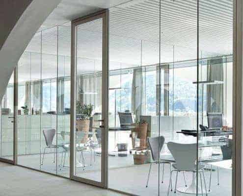 office interior partition wall