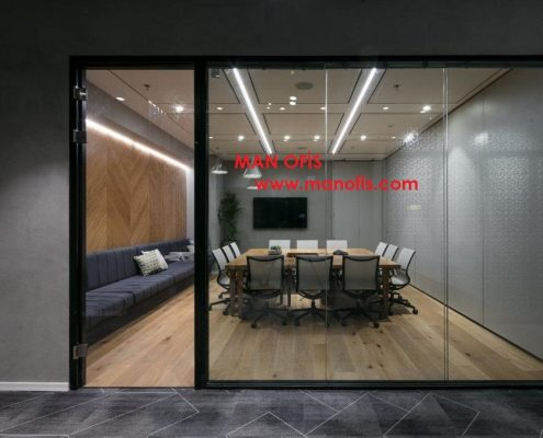 man office glass partition