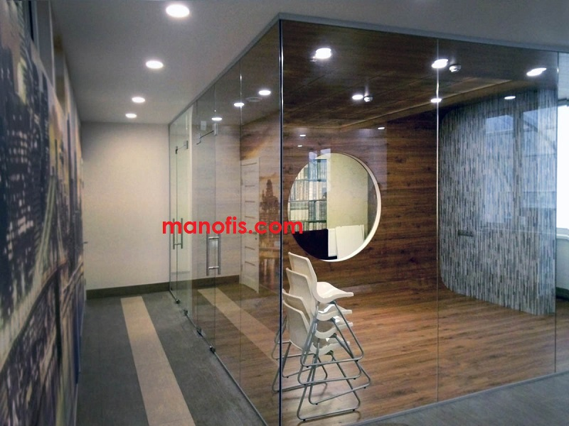 glass partition models price