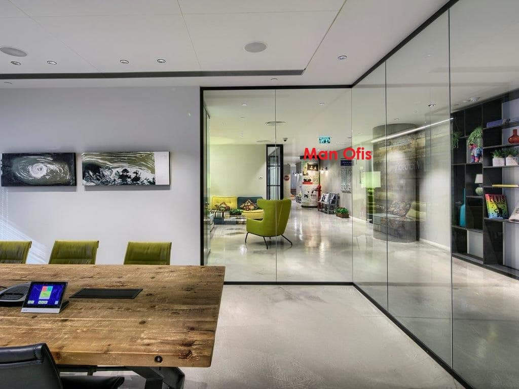 Man Office - Glass Partition Istanbul