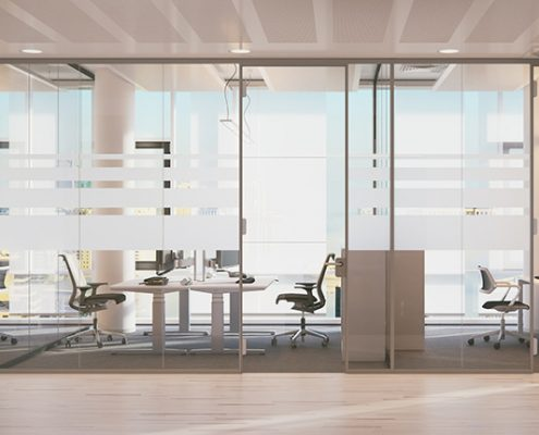 Glass Pane Professional Glass Partitions