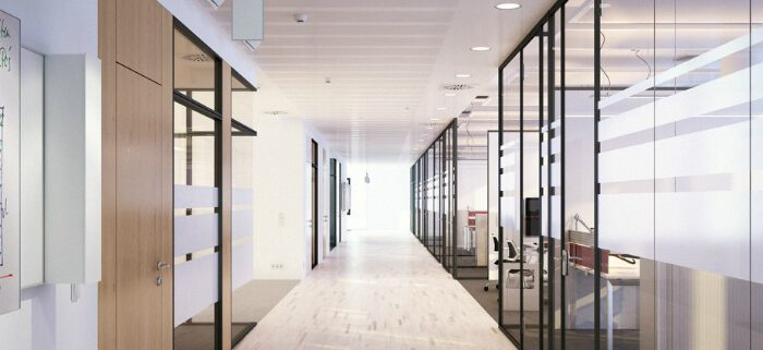 Glass Pane Professional Glass Partition prices