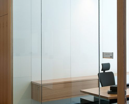 glass partition models