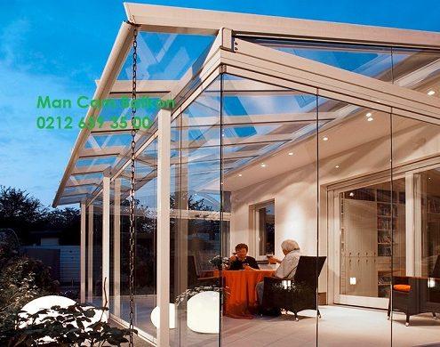 man office glass balcony