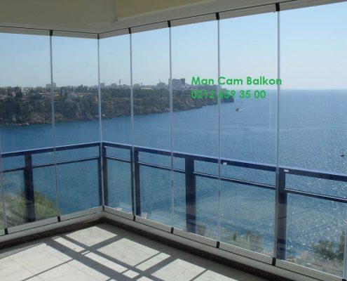 german glass balcony