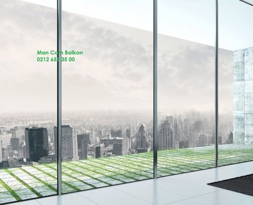 what is man office glass balcony