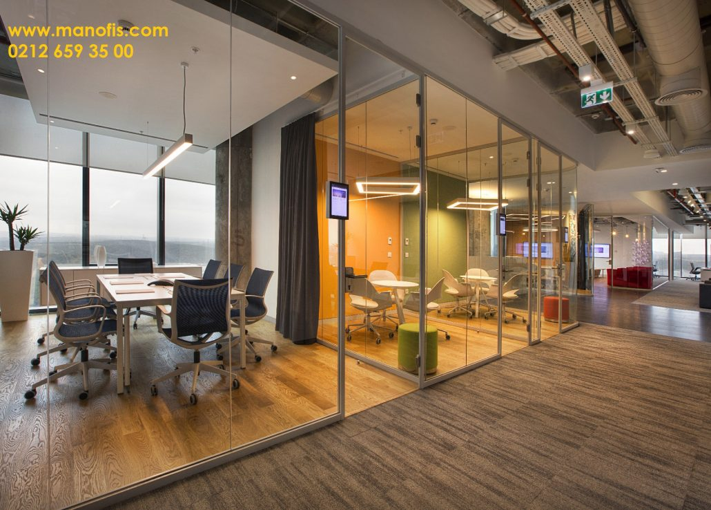 New Glass Partition İstanbul Projects