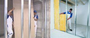 Alçıpan Bölme Duvar Giydirme Yapılması - 2