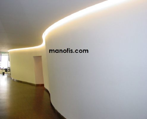 drywall partition wall