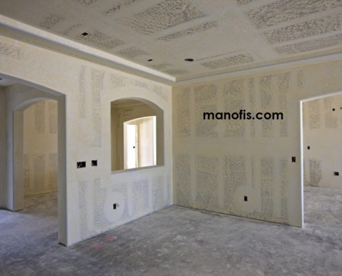 How to make plasterboard partition wall