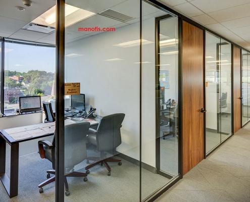 intermediate partition man office