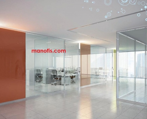 glass partition prices and models man office